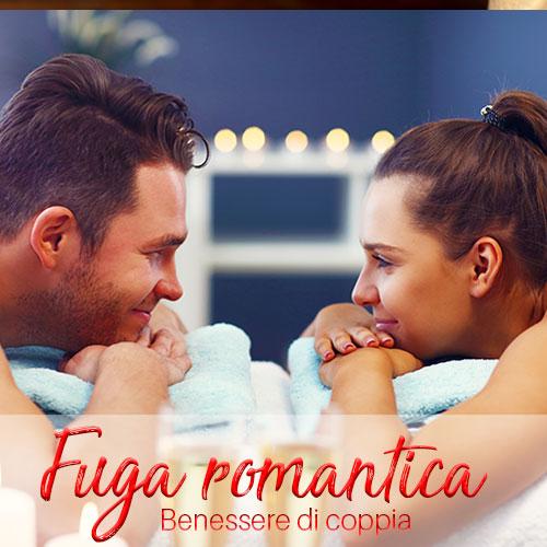 pacchetto benessere di coppia Fuga Romantica