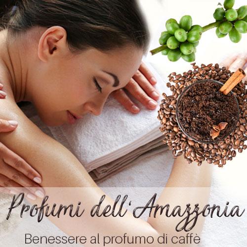Regalo pacchetto benessere con massaggio amazzonico