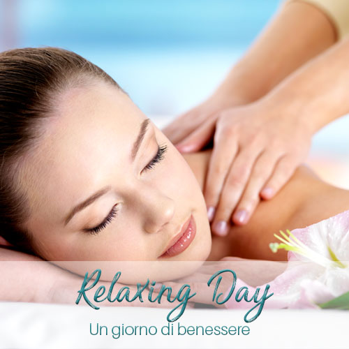 Pacchetto benessere con massaggio rilassante