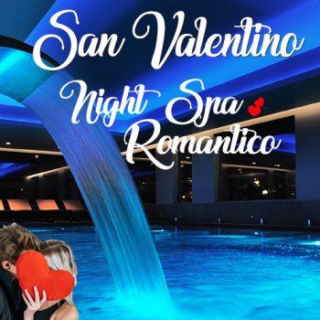 San Valentino Night Spa romantico